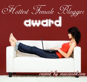 hottest-female-blogger-award